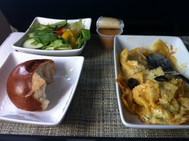 Still counts as airplane food