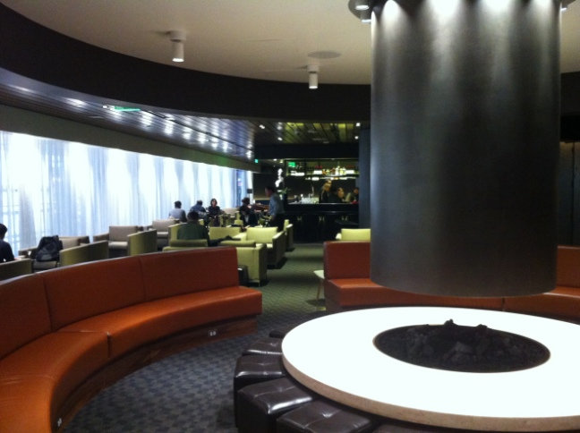 Cathay Business Lounge LAX