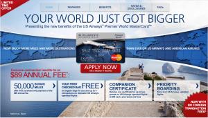 Barclays US Airways card
