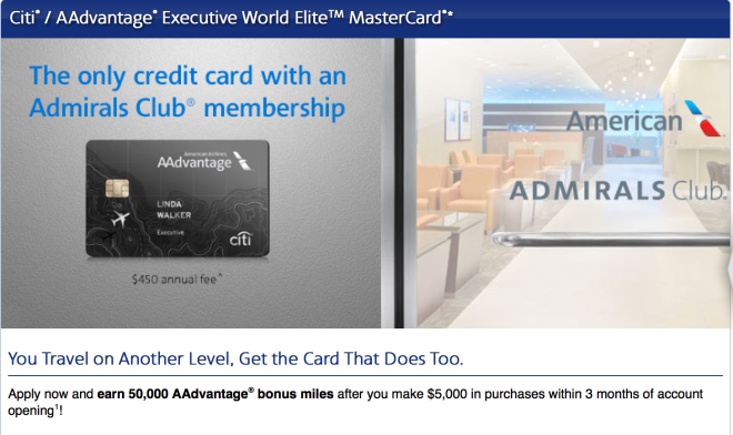 Citi AAdvantage Executive