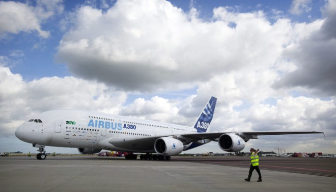 Airbus A380 aircraft