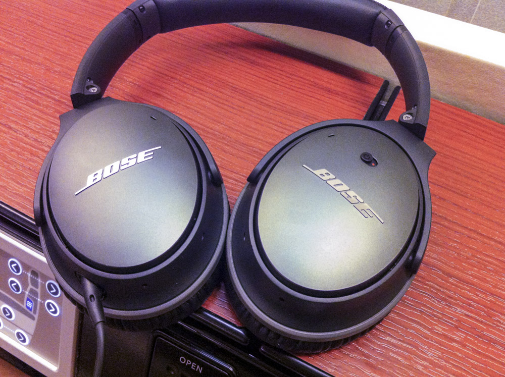 JAL First New Bose Noise Cancelling Headphones