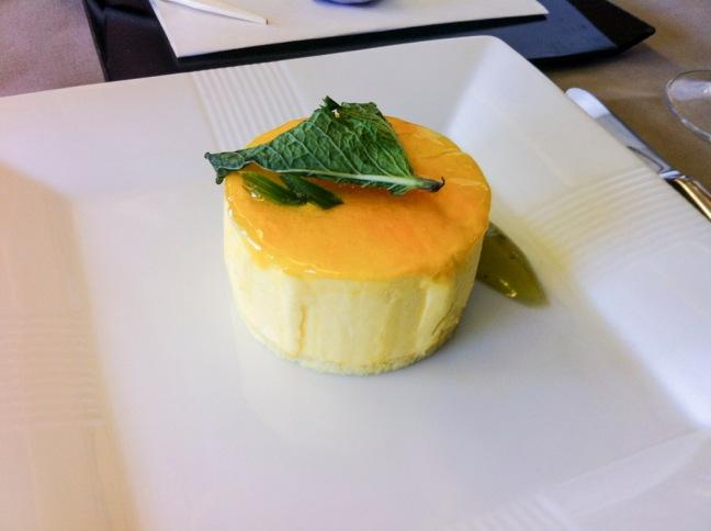 JAL First Class Dessert.