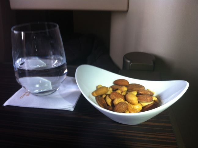 Etihad Business Class Nuts