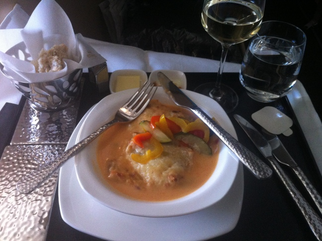 Etihad lunch