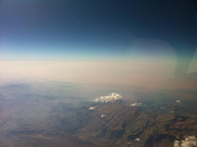 Deserty mountains or Mountainy desert?