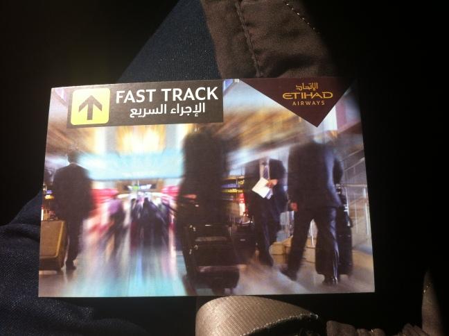 I love Fast Track Immigration.
